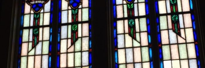 Missionaries for Christ.Stained Glass2