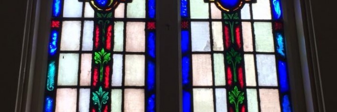 VFW Post.Stained Glass
