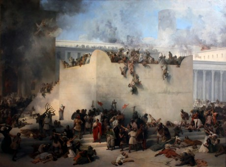The destruction of the Jewish Temple, Francesco Hayez https://commons.m.wikimedia.org/wiki/Commons:Copyright_tags/Country-specific_tags#United_States_of_America