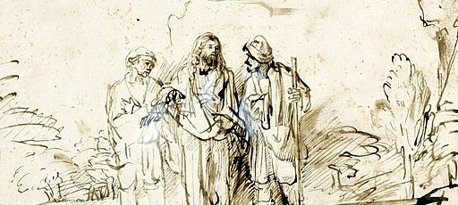 512px-Rembrandt_Christ_with_two_disciples