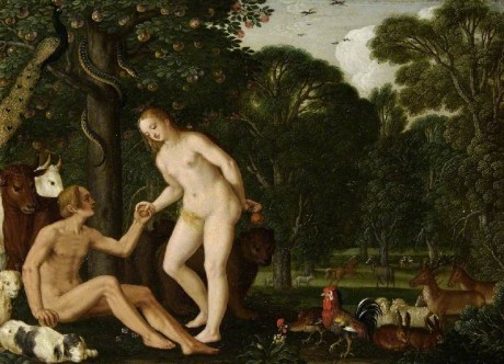 Konig, Johann; Adam and Eve in Paradise; The Fitzwilliam Museum; http://www.artuk.org/artworks/adam-and-eve-in-paradise-5603